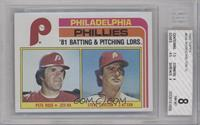 Pete Rose, Steve Carlton [BGS 8]