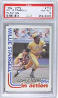 Willie Stargell [PSA 8]