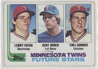 Future Stars - Lenny Faedo, Kent Hrbek, Tim Laudner [NoneGoodto&nbs…