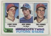 Future Stars - Lenny Faedo, Kent Hrbek, Tim Laudner