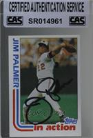 Jim Palmer [CAS Certified Sealed]