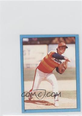 1982 Topps Album Stickers - [Base] #41 - Nolan Ryan