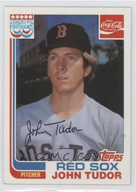 1982 Topps Coca-Cola/Brighams's Boston Red Sox - [Base] #21 - John Tudor