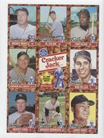 Mickey Mantle, Harmon Killebrew, Whitey Ford, Al Kaline, Brooks Robinson, Tony …