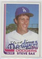 Steve Sax Rookie Card Baseball Cards