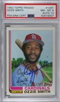 Ozzie Smith [PSA/DNA Certified Encased]