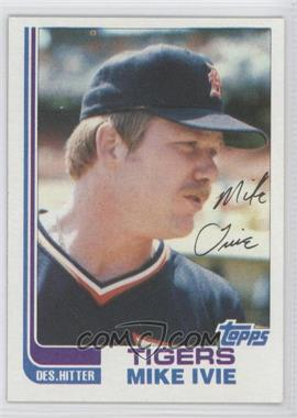 1982 Topps Traded - [Base] #45T - Mike Ivie