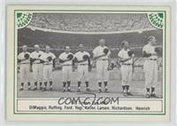 Joe DiMaggio, Whitey Ford, Yogi Berra
