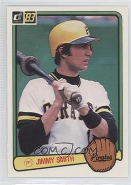 1983 Donruss - [Base] #402 - Jim Smith