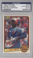 Andre Dawson [PSA/DNA Certified Encased]