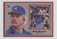 Bob Horner [Noted]
