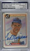 Ted Williams [PSA/DNA Certified Encased]