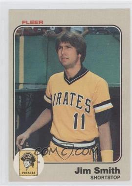 1983 Fleer - [Base] #323 - Jim Smith