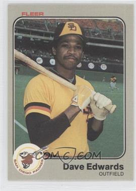 1983 Fleer - [Base] #357 - Dave Edwards