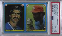 Bill Buckner, Ozzie Smith [PSA 8 NM‑MT]