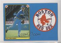Gaylord Perry, Boston Red Sox