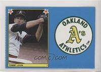 Tommy John, Oakland Athletics