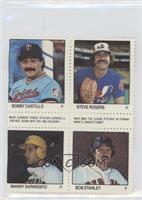 Bobby Castillo, Steve Rogers, Manny Sarmiento, Bob Stanley