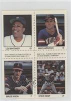 Lou Whitaker, Mike Hargrove, Bruce Kison, Steve Kemp