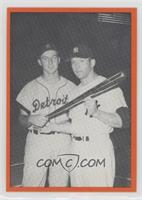 Kaline and Mantle- Batting Champs