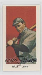 1983 Renata Galasso Capital The Monster 1909-11 T206 Reprints - [Base] #EDWI.3 - Ed Willetts (Batting; Spelled Willett)