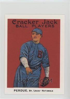 1983 Renata Galasso Cracker Jack Reprints - [Base] #121 - Hub Perdue