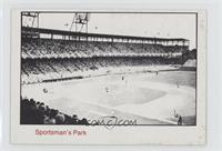 1942 to 1946 St. Louis Cardinals Sportsman's Park [Good to VG‑E…