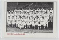 1942 St. Louis Cardinals [Good to VG‑EX]