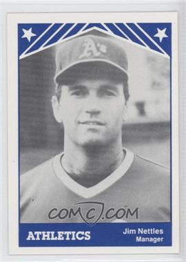 1983 TCMA Idaho Falls Athletics - [Base] #30 - Jim Nettles