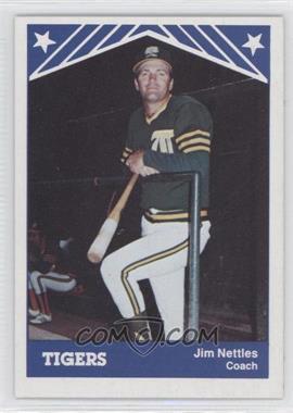 1983 TCMA Tacoma Tigers - [Base] #20 - Jim Nettles