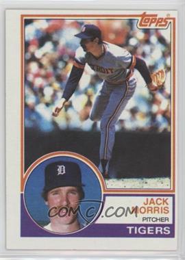 1983 Topps Base Wrong Backs 81 Jack Morris Yankees