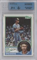 Don Sutton [BGS/JSA Certified Auto]