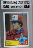Gary Carter [CAS Certified Sealed]