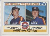 Ray Knight, Joe Niekro
