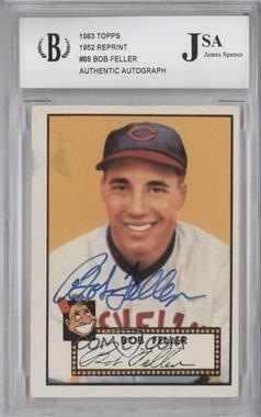 1983 Topps 1952 Reprint Series - [Base] #88 - Bob Feller [JSA Certified Auto]