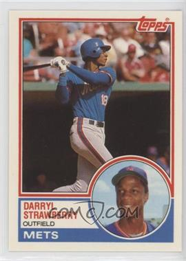 1983 Topps Traded - [Base] #108T - Darryl Strawberry