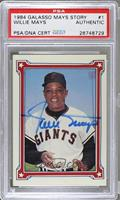 Willie Howard Mays (Say Hey) [PSA/DNA Certified Auto]