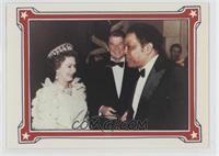 Willie Mays, Queen Elizabeth, Ronald Reagan