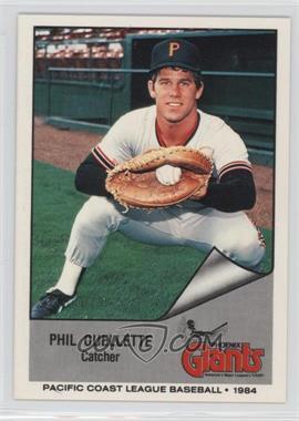 1984 Cramer Pacific Coast League - [Base] #1 - Phil Ouellette