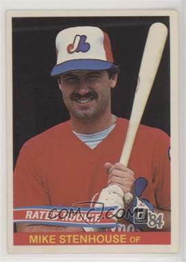 1984 Donruss Base 291 Mike Stenhouse No Card Number On Back