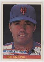 Ron Darling (No Card Number on Back)