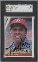 Tony Perez [SGC AUTHENTIC AUTO]
