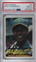 Rickey Henderson [PSA/DNA Certified Encased]
