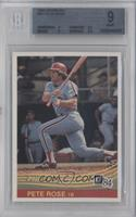Pete Rose [BGS 9 MINT]