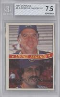 Gaylord Perry, Rollie Fingers [BGS 7.5]