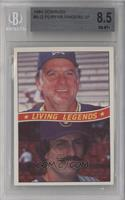 Gaylord Perry, Rollie Fingers [BGS 8.5]
