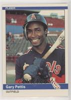 Gary Pettis Rookie Card Baseball Cards