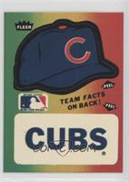 Chicago Cubs (Hat; Green On Left Border, Red On Right Border)