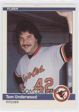 1984 Fleer Update - [Base] #U-121 - Tom Underwood