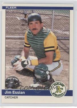 1984 Fleer Update - [Base] #U-35 - Jim Essian